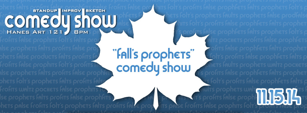 %22Fall's Prophets%22 Show Cover